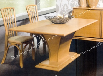 Table rectangulaire MILAN 1 allonge